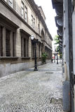 Edificio histórico en Santos Fotos de archivo libres de regalías