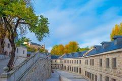 Edificio histórico en Segovia fotografía de archivo