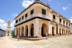 Edificio histórico en Trinidad Imagenes de archivo