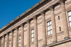 Edificio histórico, galería nacional vieja en Berlín imagen de archivo libre de regalías