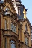 Edificio histórico hermoso praga imagen de archivo