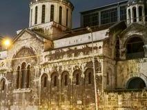 Edificio histórico viejo, Estambul, Turquía fotografía de archivo