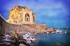 Edificio histórico del casino de Constanta Foto de archivo libre de regalías