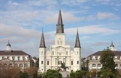 Edificio histórico en New Orleans Imágenes de archivo libres de regalías