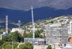 Edificio Hobart Town Imagen de archivo libre de regalías