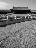 Edificio imperial del palacio de China Pekín Imagen de archivo libre de regalías
