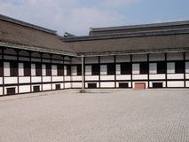 Edificio imperial del palacio de Kyoto fotografía de archivo libre de regalías