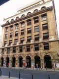 Edificio impresionante (Bucarest) Foto de archivo libre de regalías