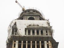 Edificio inacabado Fotos de archivo libres de regalías