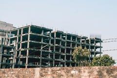 Edificio inacabado abandonado Foto de archivo libre de regalías