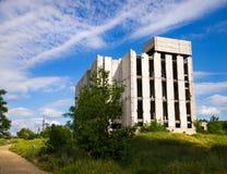 Edificio inacabado abandonado fotos de archivo libres de regalías