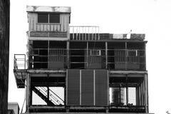 Edificio independiente del metal imagen de archivo
