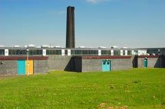 Edificio industrial Foto de archivo libre de regalías