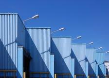 Edificio industrial fotos de archivo