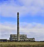 Edificio industrial abandonado Fotografía de archivo libre de regalías