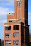 Edificio industrial abandonado Imágenes de archivo libres de regalías