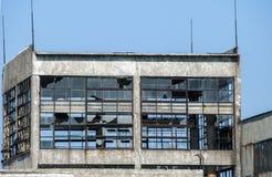 Edificio industrial abandonado Imagen de archivo