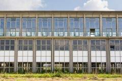 Edificio industrial de Abadoned Imágenes de archivo libres de regalías