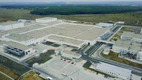 Edificio industrial moderno metrajes