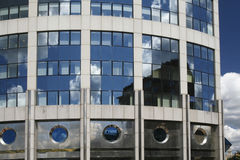 Edificio industrial moderno 12 imágenes de archivo libres de regalías