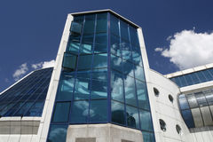 Edificio industrial moderno 15 imagen de archivo
