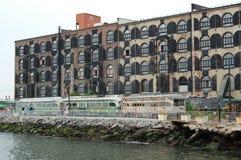 Edificio industrial moderno fotografía de archivo
