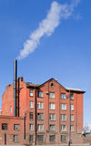 Edificio industrial típico Imágenes de archivo libres de regalías