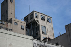 Edificio industrial viejo fotos de archivo libres de regalías