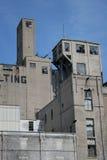 Edificio industrial viejo Foto de archivo libre de regalías