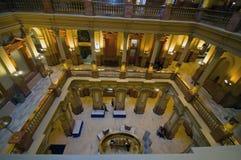 Edificio Inerior del capitolio de Colorado Foto de archivo libre de regalías