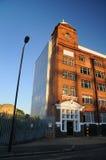 Edificio inglés rojo Fotos de archivo