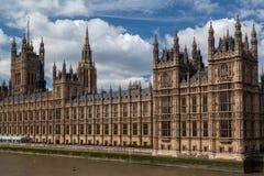 Edificio Inglaterra del parlamento Imagen de archivo libre de regalías