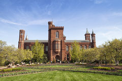 Edificio institucional de Smithsonian Foto de archivo