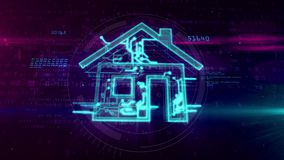 Edificio inteligente - concepto de IOT