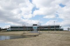 Edificio internacional de AOC, líder de A en tecnología de la resina Fotos de archivo libres de regalías