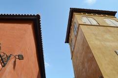 Edificio italiano del estilo Imagen de archivo libre de regalías