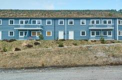 Edificio largo para los turistas en Noruega Foto de archivo libre de regalías