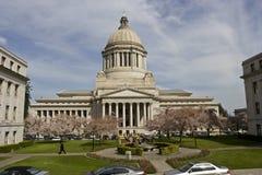 Edificio legislativo de Captol adentro Fotografía de archivo libre de regalías