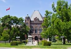 Edificio legislativo de Ontario fotos de archivo