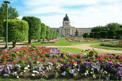 Edificio legislativo de Saskatchewan Imágenes de archivo libres de regalías
