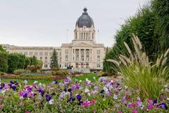 Edificio legislativo de Saskatchewan Foto de archivo