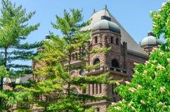Edificio legislativo de Toronto en Toronto, Ontario, Canadá Foto de archivo