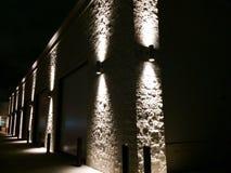 Edificio ligero del punto Imagen de archivo libre de regalías