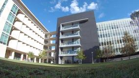 Edificio médico del campus de USC almacen de video