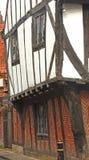 Edificio medieval; detalles. Fotografía de archivo libre de regalías