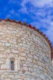 Edificio mediterráneo Imágenes de archivo libres de regalías