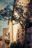 Edificio mediterráneo Fotografía de archivo libre de regalías