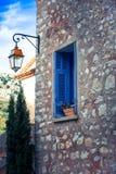 Edificio mediterráneo Imagenes de archivo