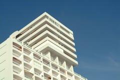 Edificio mediterráneo Imagen de archivo libre de regalías
