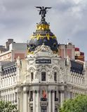 Edificio Metrópolis, Madrid stock images